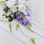 I fiori di seta per abiti da sposa: cosa sono