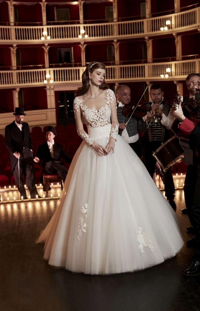 I pizzi e ricami di tendenza per abiti da sposa