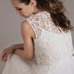 Il miglior abito di pizzo francese per abiti da sposa