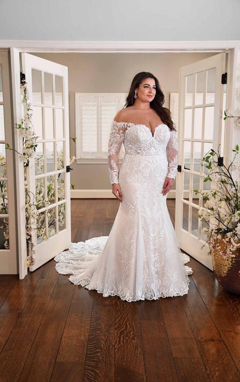 L'abito da sposa curvy